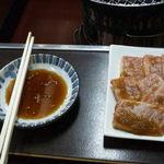 焼肉&喫茶の太陽 - 料理写真:特上カルビ1260円、肉もいいし味付けもいい