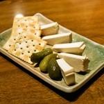 我武者羅 - 2014.7 チーズのみそ漬け(400円)