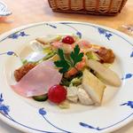 ビストロイマイ - «サラダランチ800円»サラダ