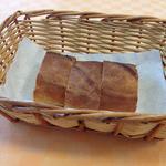 ビストロイマイ - «サラダランチ800円»パン