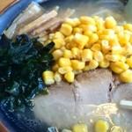 紫陽花飯店 - コーン塩ラーメン670円