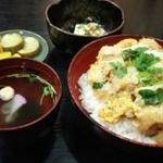 吟なべ - 煮かつ丼700円