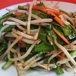 華門 - お野菜たっぷりニラレバ