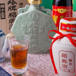 充実の各種中国酒☆