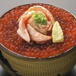 鰊御殿 - いくらトロサーモン親子丼