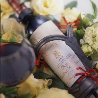 【ソムリエがいる】厳選されたヴィンテージワインの数々