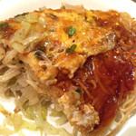 広島風お好み焼き れんが亭 - 細麺あります