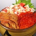 鰊御殿 - 海鮮三味丼