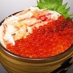 鰊御殿 - 北海贅沢丼