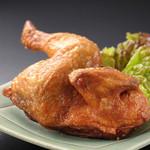 鰊御殿 - 若鶏半羽揚げ