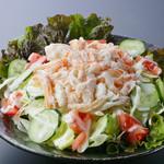鰊御殿 - カニいっぱいサラダ