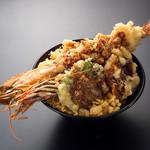 鰊御殿 - びっくり海老天丼