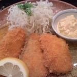 和顔施 - メインの鮭とよこわのフライ