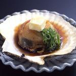 鰊御殿 - 帆立のバター焼き