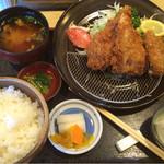 こばやし亭 - 白身魚フライ定食 (ハタ)