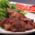 鰊御殿 - ラム肉特製タレ肉