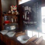久留米ラーメン清陽軒 - 昭和27年の屋台が迎えてくれます