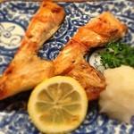 とんかつ 安右衛門 - 鮭カマの味噌漬け焼き