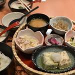 とろ麦 - 2014/07 二色の揚げ出し豆腐 1,274円