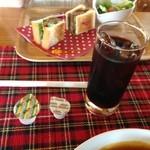 Lunch&cafe 風 - アイスコーヒー