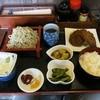 こざすや - 料理写真:『日替わりAランチ(ミックスフライ+蕎麦(もり))』(税込750円)