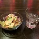 TSUBAKI GARDEN - 最初に出されるサラダ