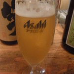 まる田 - 生ビール