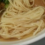 蔦の葉 - 煮干時雨 麺