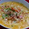 アンチョビ - 料理写真:サーモンのクリームスパゲッティ