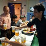東京湾納涼船 - パーティープランのオードブル