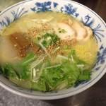 浦咲ラーメン駅前 - 料理写真:焼きあご鶏白湯ラーメン