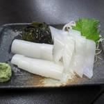 港鶴 - イカのお刺身