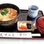 札幌国際カントリークラブ - こだわり玉子のカツ丼