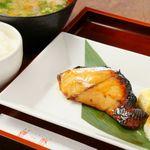 焼魚御膳+ビュッフェ付