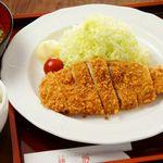 熟成黒豚ロースカツ御膳+ビュッフェ付