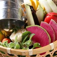 人形町SUSULU - 野菜ソムリエおすすめの一品!すべて生野菜【生野菜のお刺身盛り合わせ】食べたことのない野菜に出会えます☆