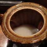 久呂無木 - 蕎麦湯