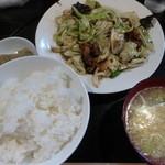 朴伝 - <2014/08/23>ホイコーロー定食