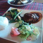 Lunch&cafe 風 - ハンバーグランチ1,200円