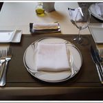 リストランテ ベツジン - テーブルセッティング