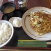 イノ - 料理写真:焼きそば定食 700円