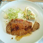 ルイタ食堂   - 生姜焼きのアップ