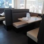 麺屋 たけ井 - テーブル席