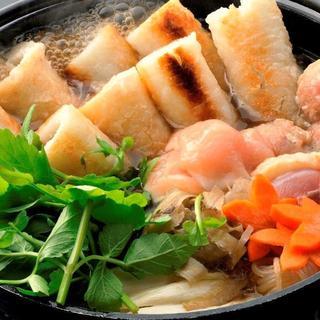 【オススメ】秋田名物!比内地鶏きりたんぽ鍋