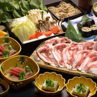 ○おすすめ○旬菜・旬魚を使った【旬菜庵コース】