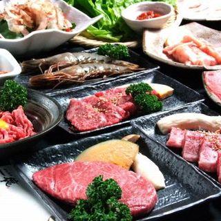 極上のお肉をお得なコースでお召し上がりください!!