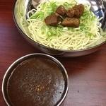 極麺 - 濃厚カレーつけ麺!