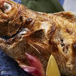 十二の月 - 料理写真:特大サイズの喉黒です!脂のノリが凄い!