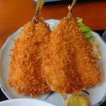 磯料理マルゴ - アジフライ(黄金定食)