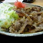 Yoshinoya - 牛カルビ定食(550円)。ご飯と味噌汁がつきます